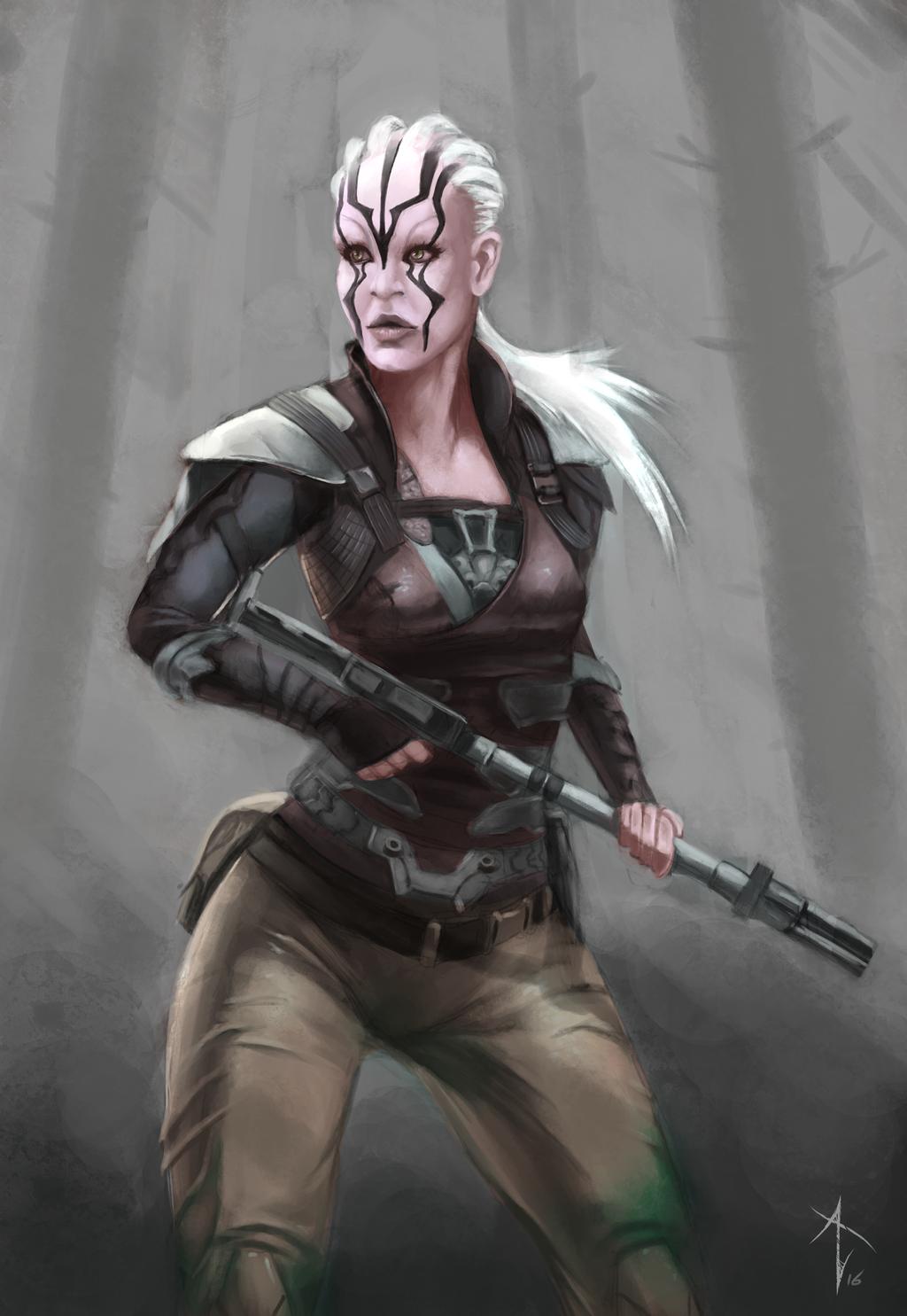 Jaylah (Star Trek Beyond) by VezoniaArtz