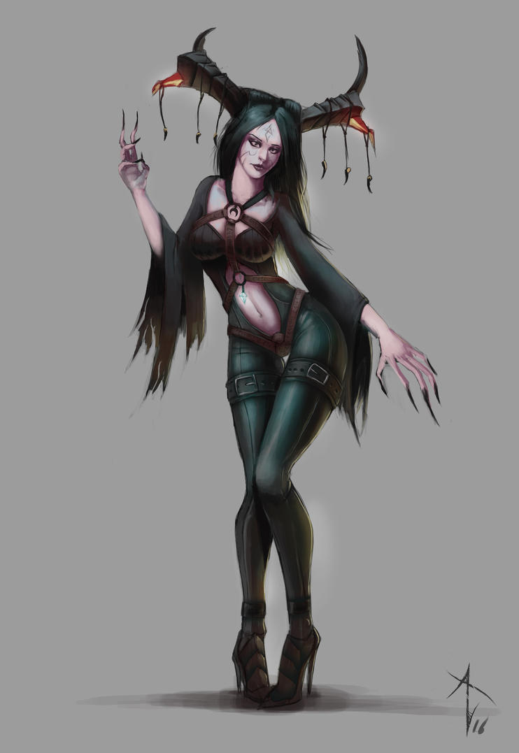 Demoness outfit by vezon122