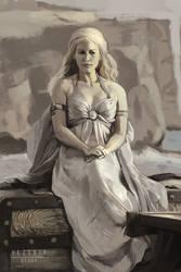 Daenerys Targaryen photostudy by VezoniaArtz