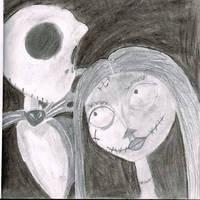 Jack And Sally by BatgirlTheDinosaur