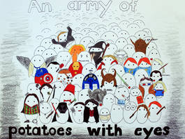 Potatoes with eyes
