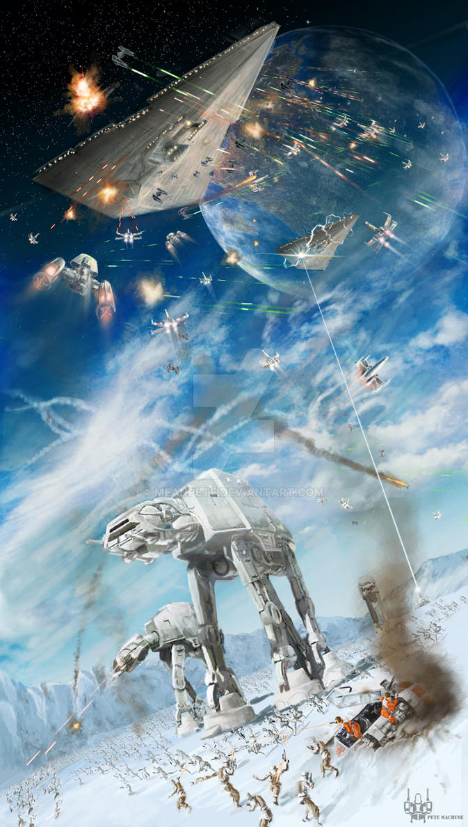 Battlefield Hoth by MeanPete