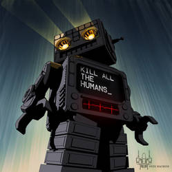 Robotatron by MeanPete