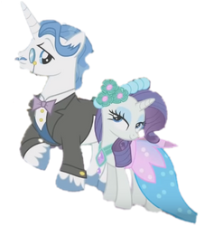 Rarity and Fancypants by FUNImation2002