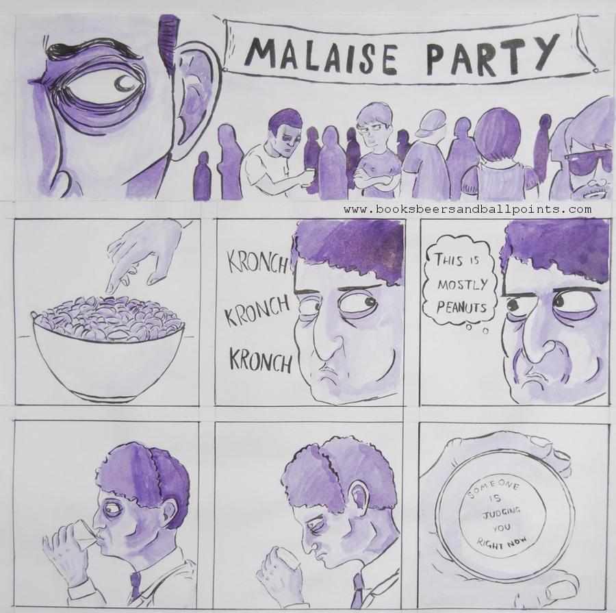 Malaise Party by BostonDanceParty
