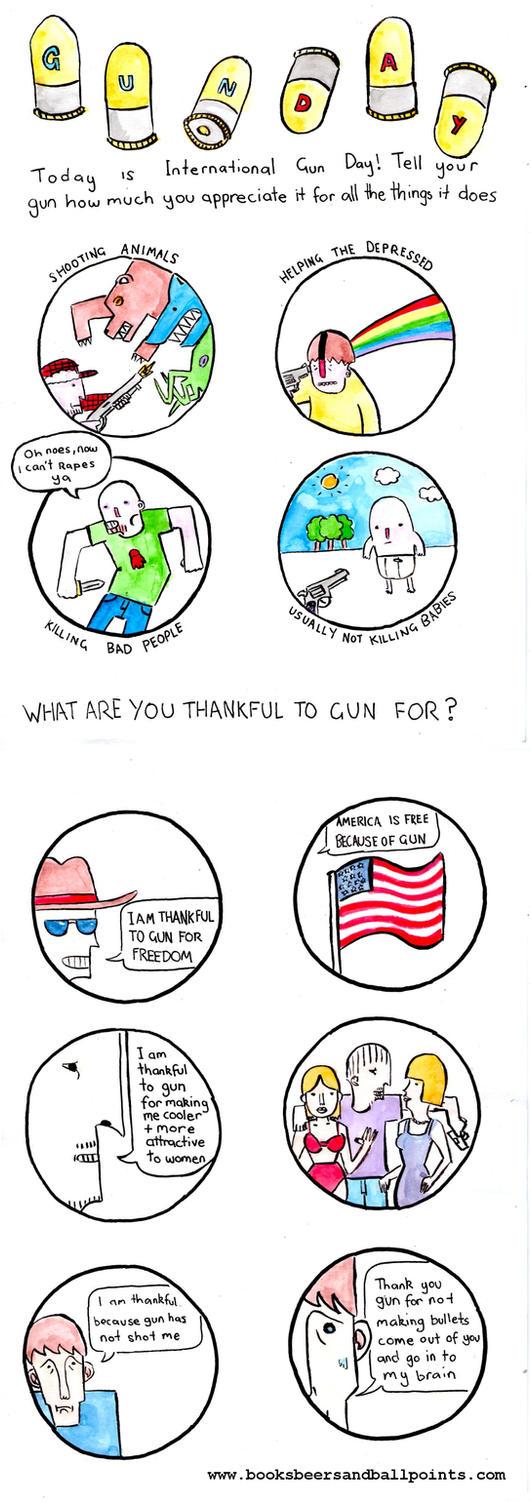 Gun Day by BostonDanceParty