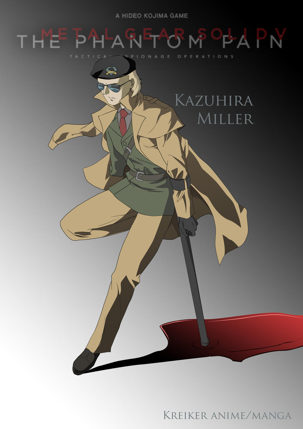 Kaz Miller By Kreikerjack On Deviantart Share the best gifs now >>>. kaz miller by kreikerjack on deviantart