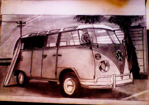 volkswagen t1 samba by baleent on deviantart. Black Bedroom Furniture Sets. Home Design Ideas