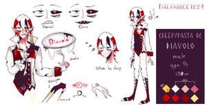 Diavolo [Creepypasta Oc] by Theprince1224