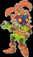 Majora's Mask - Skull Kid by SerifDraws
