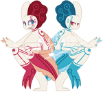 Official Fooshie Twins [AUCTION - CLOSED]