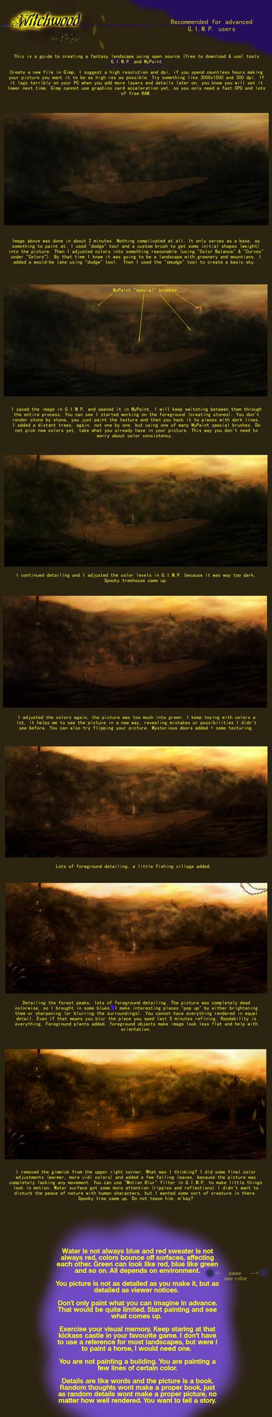 Witchwood - painting tutorial by Nrekkvan