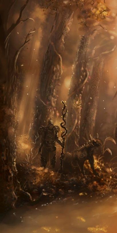Druid by Nrekkvan