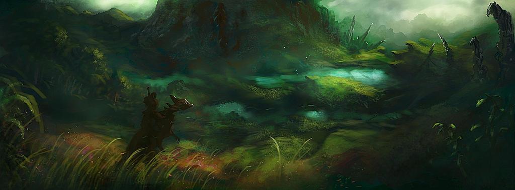 Sinking Mountain by Nrekkvan
