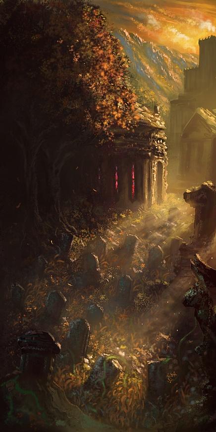 Sohan d'Artoria ~ Whoever hunts his own demons Graveyard_by_nrekkvan-d5hap64