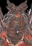 Commission: Anthro Dragon