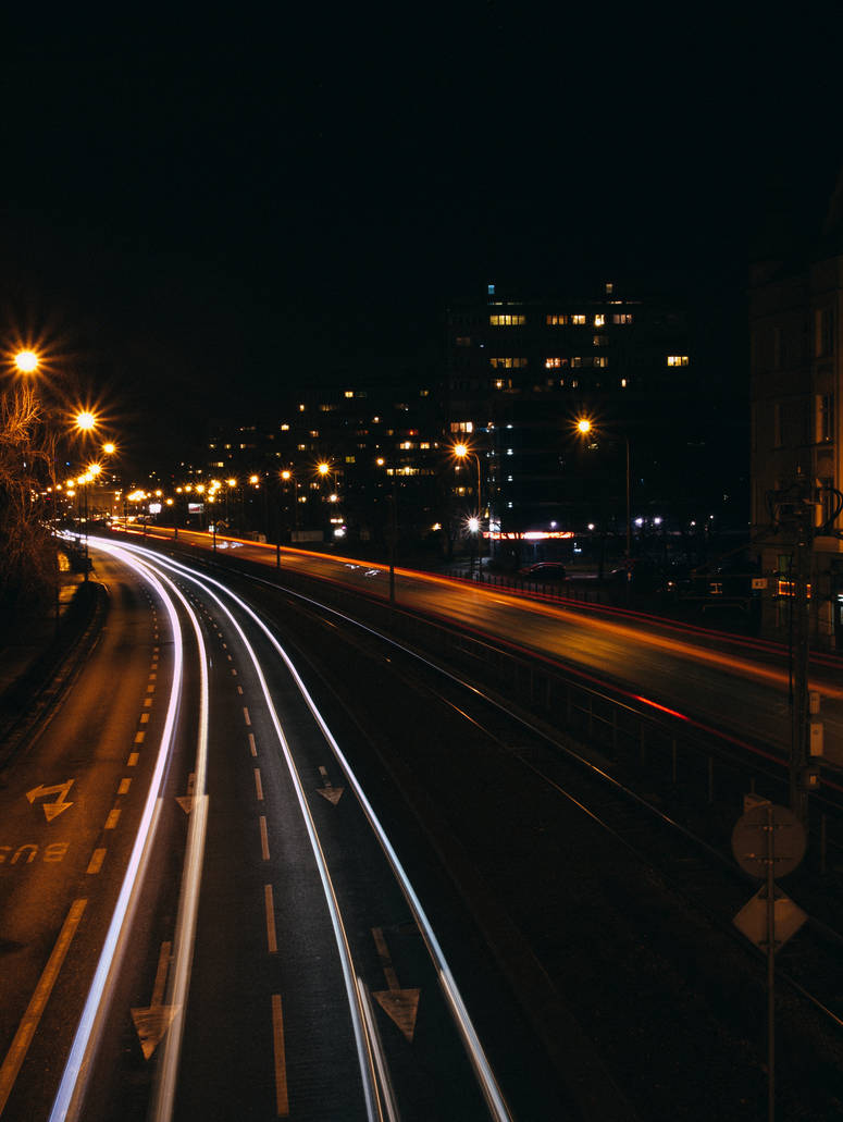 Wroclaw at night.