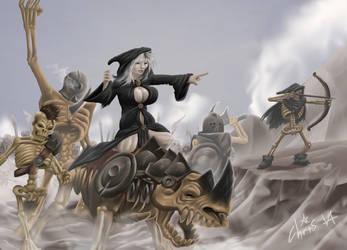 skeleton army by Agro-Andersen