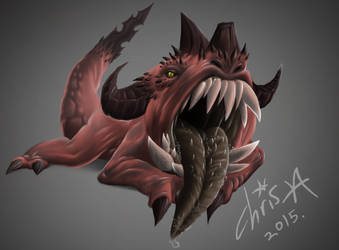 mouth Demon by Agro-Andersen