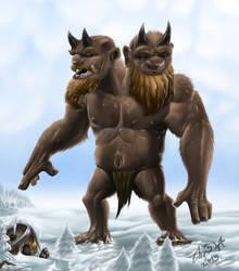 Two-headed troll by Agro-Andersen
