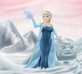elsa frozen by Agro-Andersen