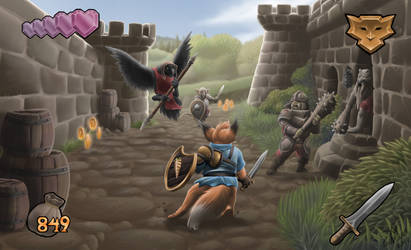 Kingsley's Adventure 2 screenshot by Agro-Andersen