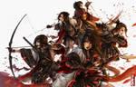 War Maidens by sXeven
