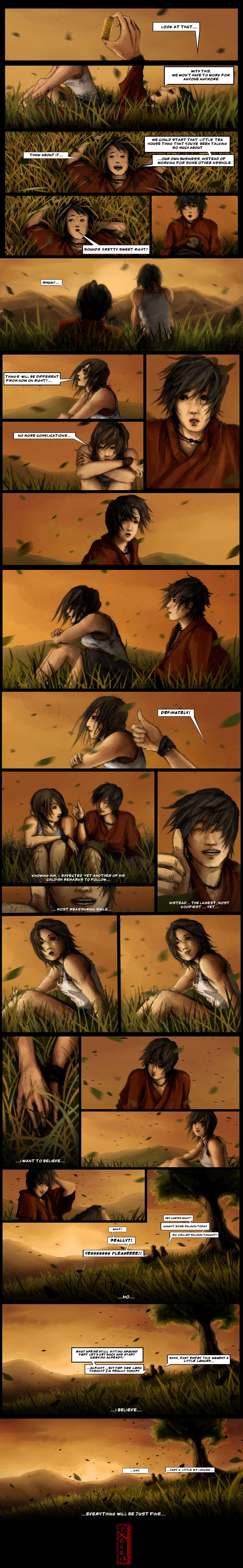 Shuin and Saia Test Comic by sXeven