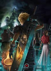 Final Fantasy VII Remake by sXeven