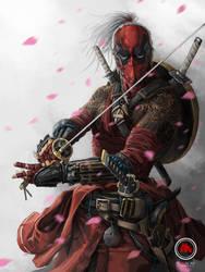 Ronin Deadpool by sXeven