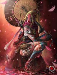 Kabuki Assassin Lady Deadpool by sXeven