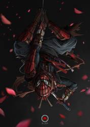 Threadweaver Shinobi Spider-Man by sXeven