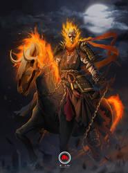 Onryo Ghost Rider by sXeven