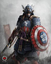 Sengoku Captain America by sXeven