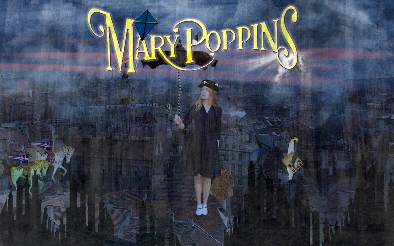 Modern day mary poppins by xxdigipxx on deviantart - Mary poppins wallpaper ...