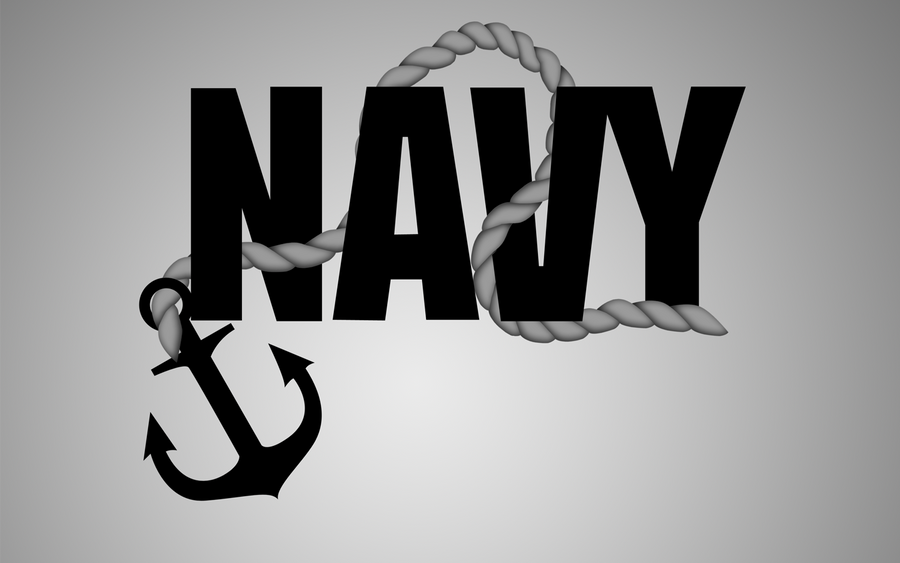 Navy Rope and Anchor by xxdigipxxNavy Anchor Logo
