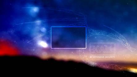 Polygonal Kali Logo Lockscreen