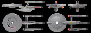 Siegfried Class Orthographic Views