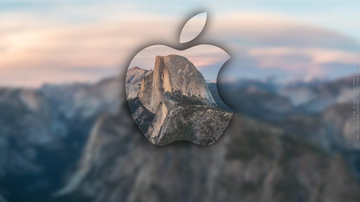 OS X Yosemite Wallpaper by Rekkert