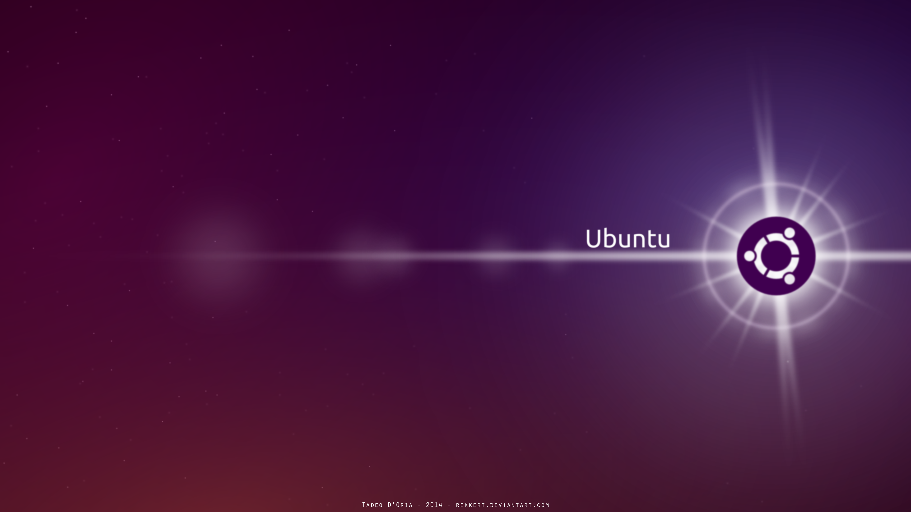 ubuntu wallpaper by rekkert on deviantart