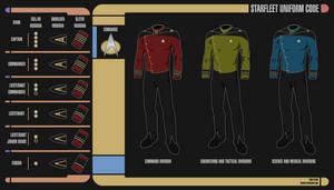 Alternate 24th Century Starfleet Uniforms by Rekkert