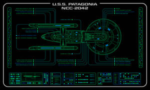 USS Patagonia - Master Systems Display