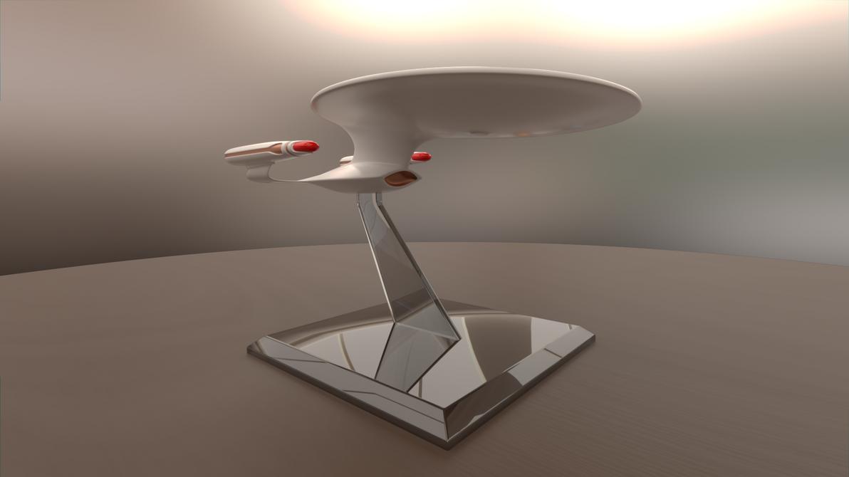 Galaxy-Class Model Starship by Rekkert