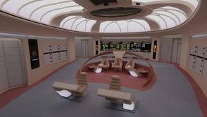 USS Enterprise-D Bridge - 2370