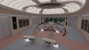 USS Enterprise-D Bridge - 2364 by Rekkert