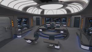 USS Galaxy Bridge - 2376 by Rekkert