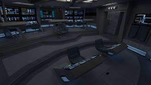 USS Galaxy Battle Bridge - 2376