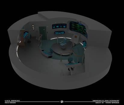 USS Merced Bridge Cutaway
