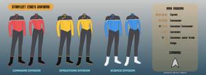 Star Trek Lower Decks - Starfleet Uniforms