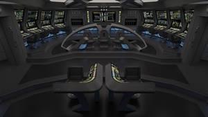USS Nimitz Bridge